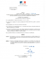 Arrêté préfectoral du 10 janvier 2019 fixant la composition des commissions de contrôle