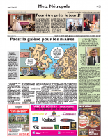 PACS – Républicain Lorrain – 19 nov. 2017