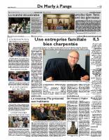 Présentation du PLU aux habitants – Républicain Lorrain – 10 décembre 2016
