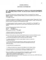 SÉANCE du CM du 20 novembre 2019